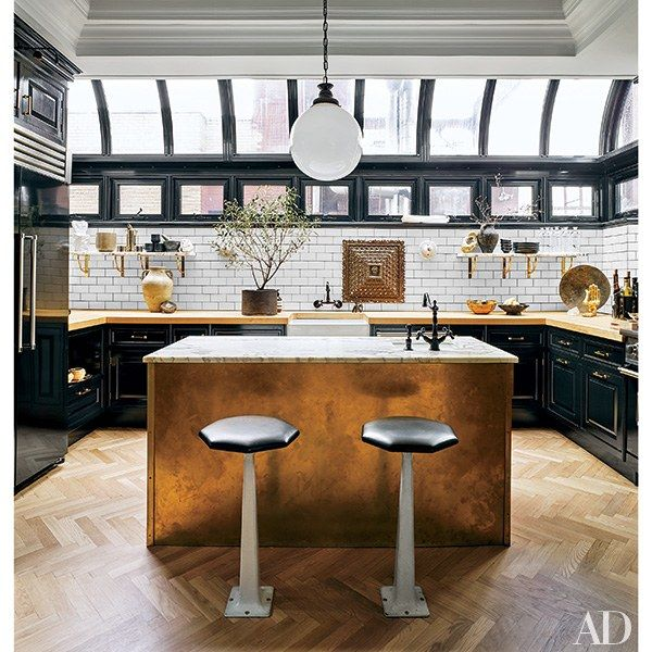Decorating Your Kitchen with Black Photos | Architectural Digest