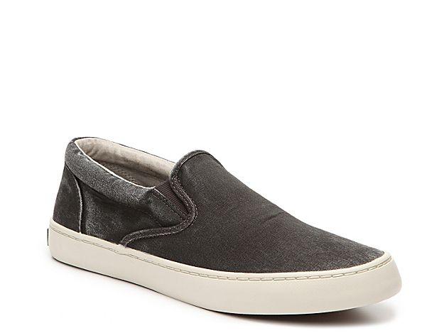 Men Cutter Slip-On Sneaker -Black