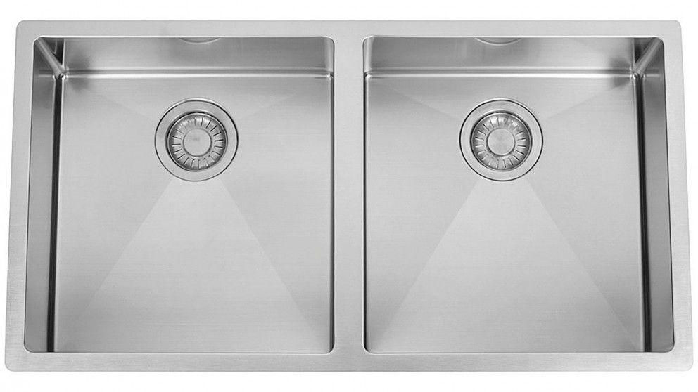 Franke Planar 15 Double Bowl Square Sink Pzx220 36