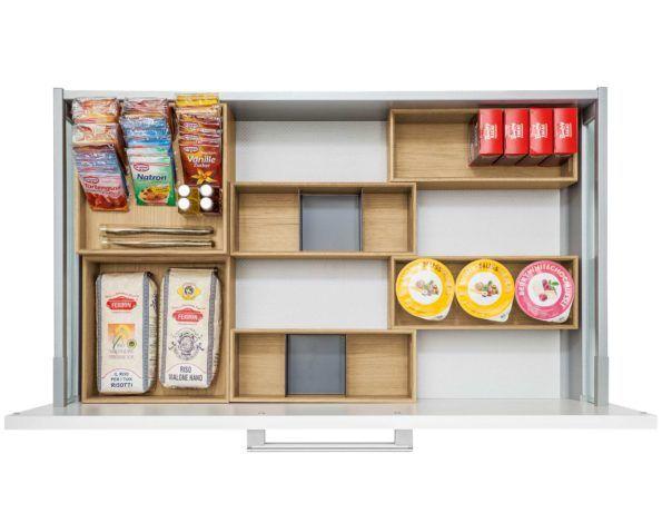 Küche Organisieren Mehr Übersicht Und Ordnung In Schubladen Mit Einteilern Fächern Küchenschublade