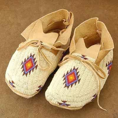 Native american moccasins, Native