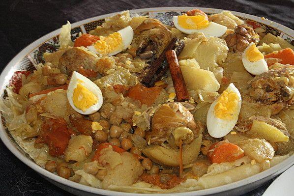 Rougag ou tchakhchoukha un plat alg rien cuisine alg rienne pinterest cuisine alg rienne - Cuisine algerienne facile ...