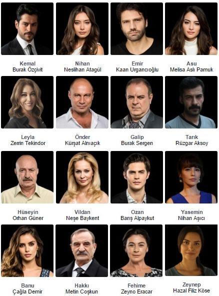 Sirial365 Kara Sevda Cast Names Actresses Kara Turkish Film