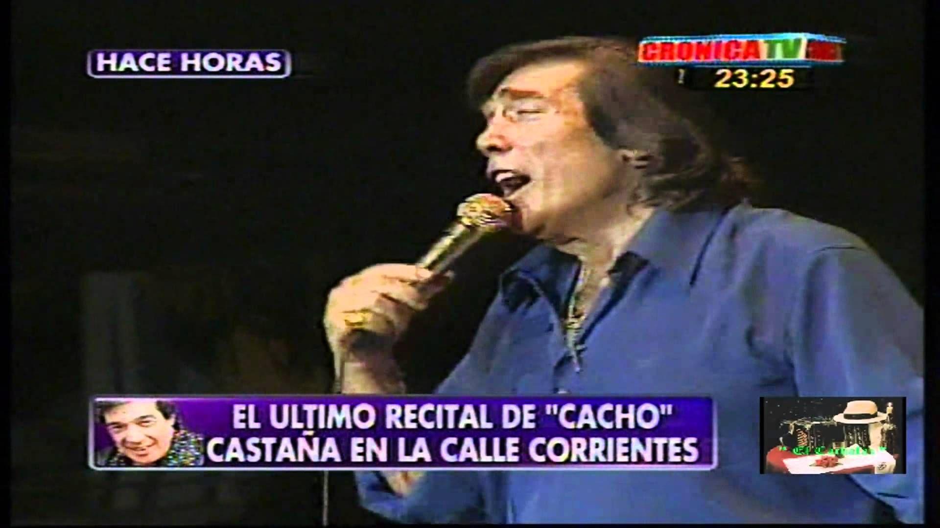 """Cacho Castaña  """"Y apareciste tu"""""""