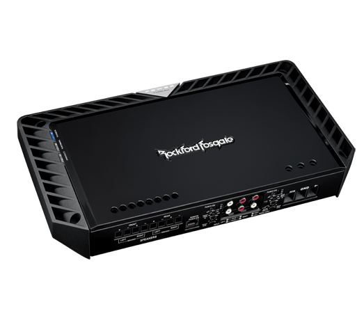 The Power T1000-4ad is a 4-channel amplifier that combines the sound quality characteristics of a Class-A design with the efficiency of a Class-D in one remarkable package, offering high fidelity in a full-range configuration.