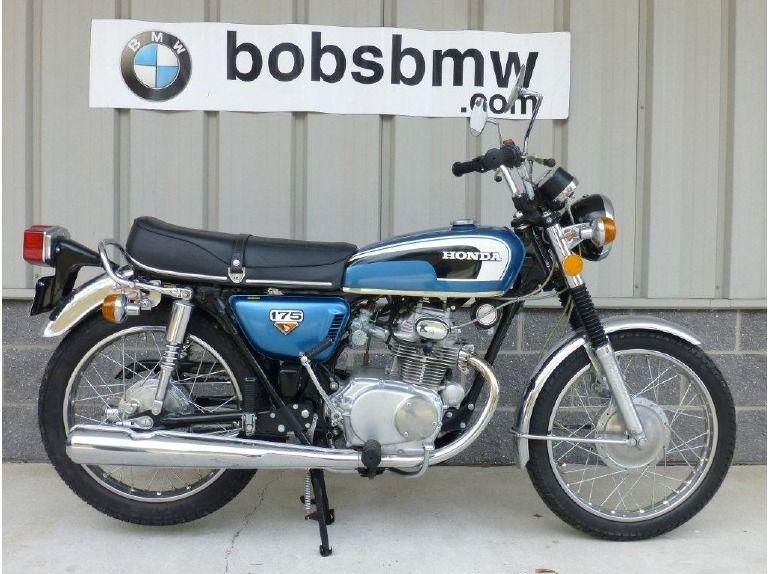 1973 Honda CB175 Honda motorcycles, Honda, Honda cb series