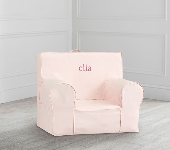 My First Blush Twill Anywhere Chair® in 2020 Slipcovers