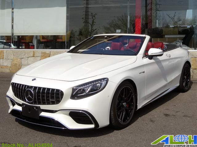7712Japan Used 2018 Mercedes Benz S Class Sports Car for