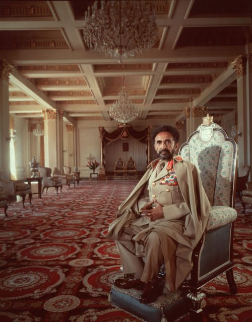 His Imperial Majesty Haile Selassie I, Conquering Lion of the Tribe of Judah, King of Kings (Emperor) of Ethiopia, Elect of God