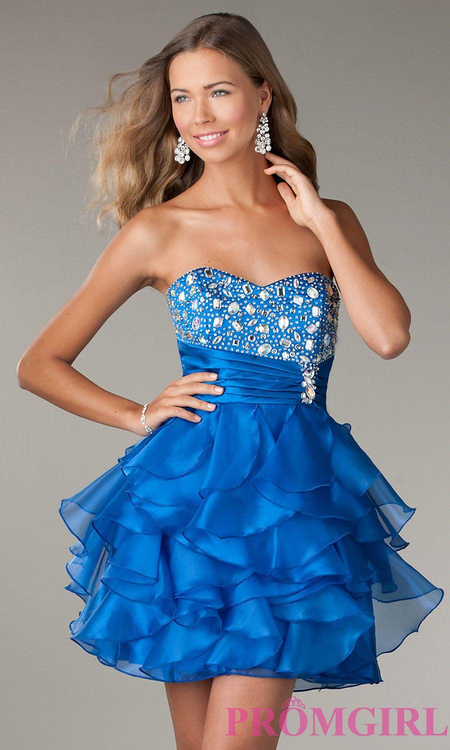 1bc1f89f2 +30 vestidos de 15 años largos y cortos en color azul