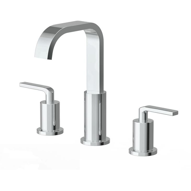 American Standard Nice 3 Piece Bathroom Lavatory Sink Faucets Set