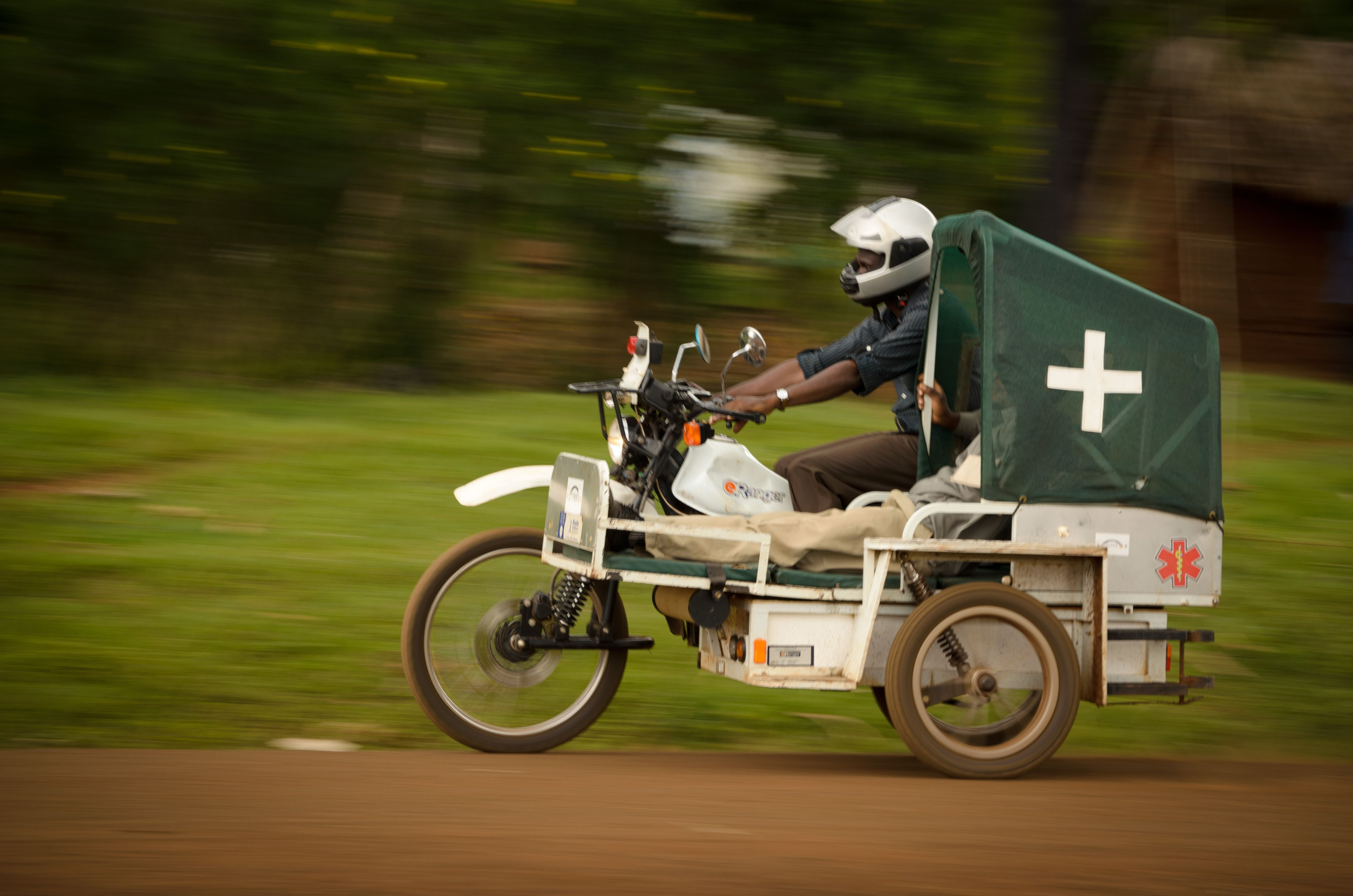 african ambulance Emergency vehicles, Motorcycle, Africa