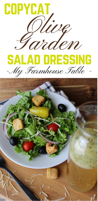 Copycat Olive Garden Salad Dressing Recipe Olive