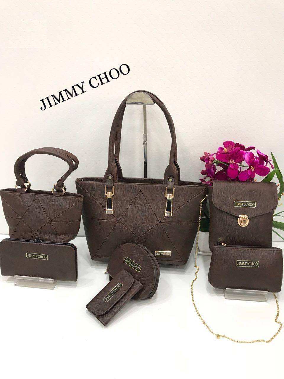 e78b3f532f9e JIMMY CHOO Ladies Purse Combo AVAILABLE COLORS Jimmy Choo Combo Set of 7  Size 14x10(