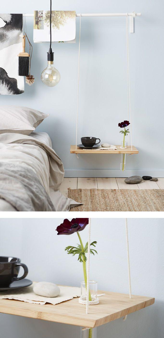 DIY bedside table ideas | Bedside table diy, Side tables