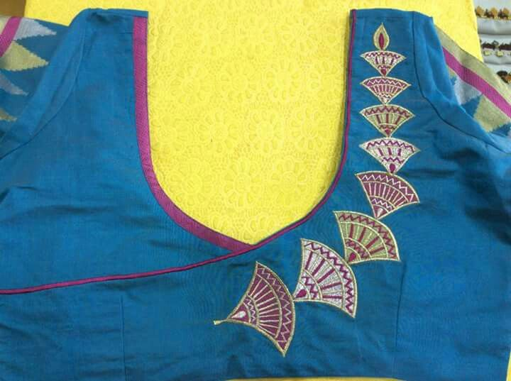 Pin de Lilysha Rani en pattern blouses   Pinterest