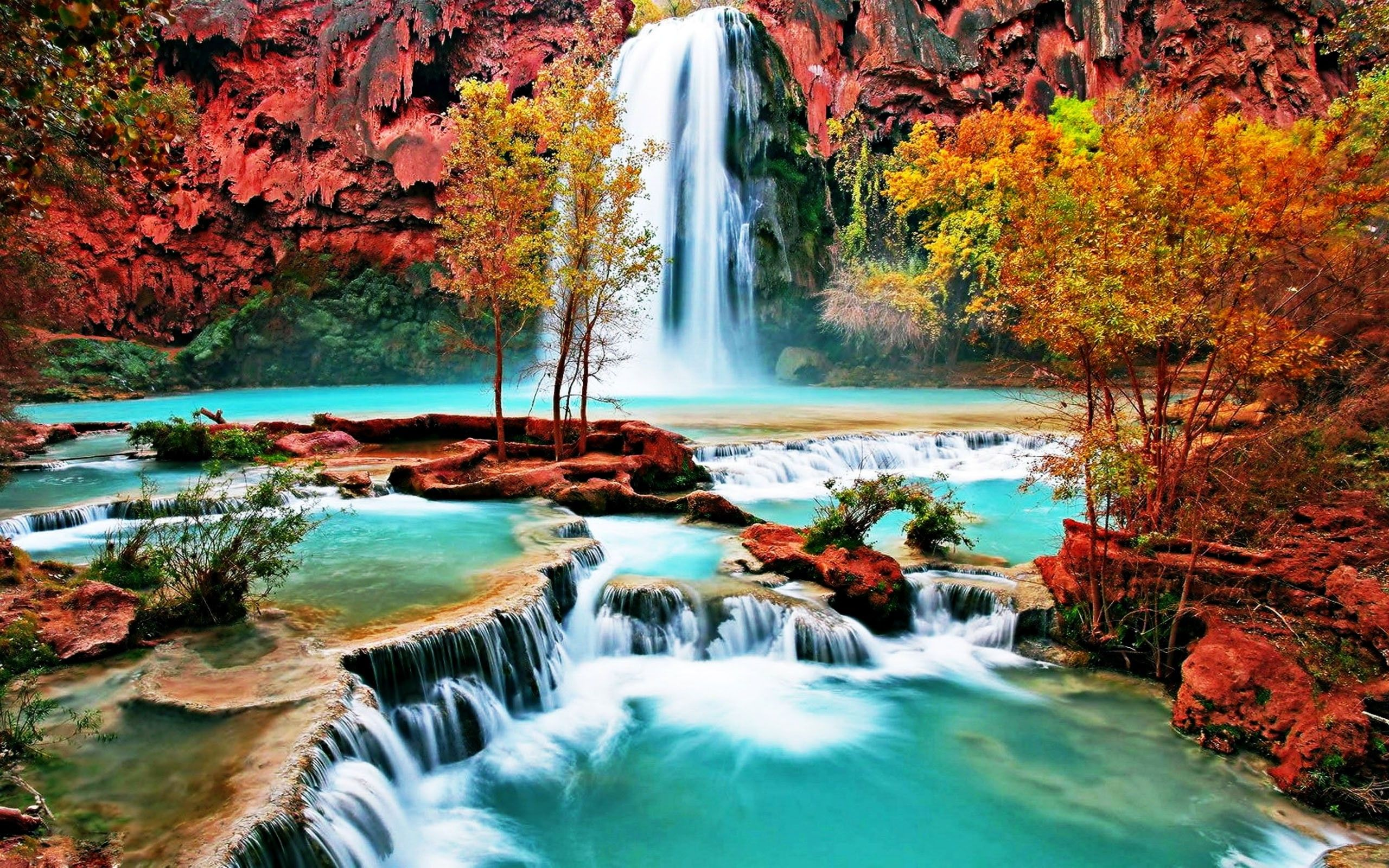 For Pc beautiful wallpapers for desktop background | Hd Wallpaper Full in 2019 | Waterfall ...