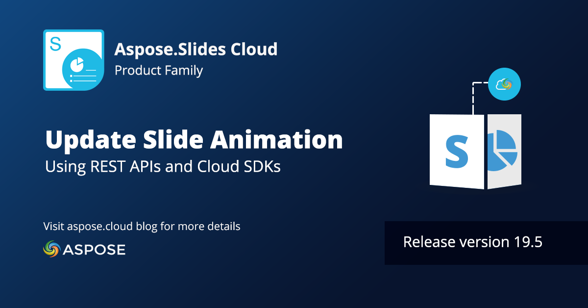 Update Slide Animation With Aspose Slides Cloud 19 5 Presentation Format Delete Folder Microsoft Powerpoint