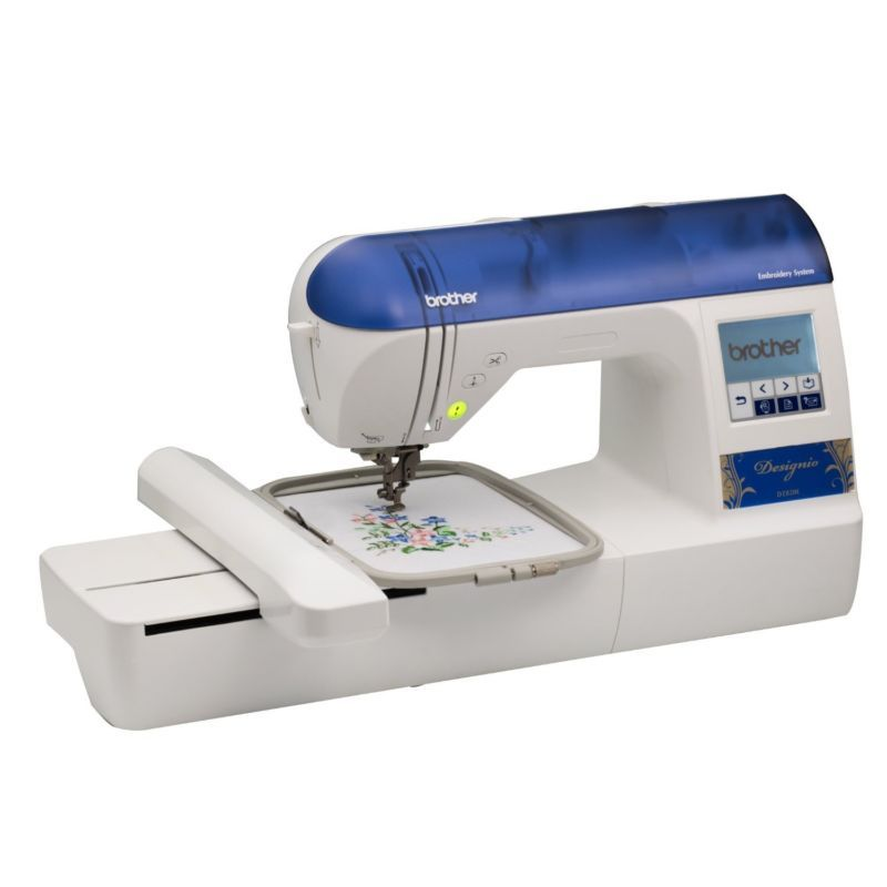 BROTHER Designio DZ40E 40x40 Embroidery Machine 40 Extra Hoops Simple Sewing Machine Beginners Kit