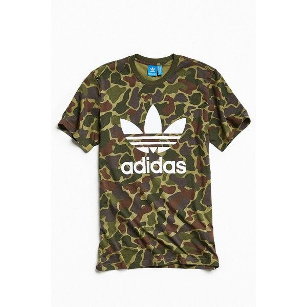 adidas Camo Summer 2017 Tee ( 34) ❤ liked on Polyvore featuring men s  fashion c3b1cb0f99f