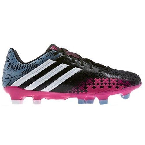 f98fd70cd2889 SALE: Adidas Women's Predator LZ TRX FG - Black/Pink   adidas Soccer ...