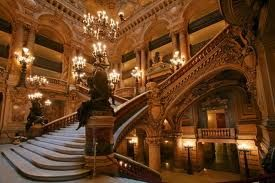 Paris Opera House. Home of The Phantom!  The architecture is amazing!