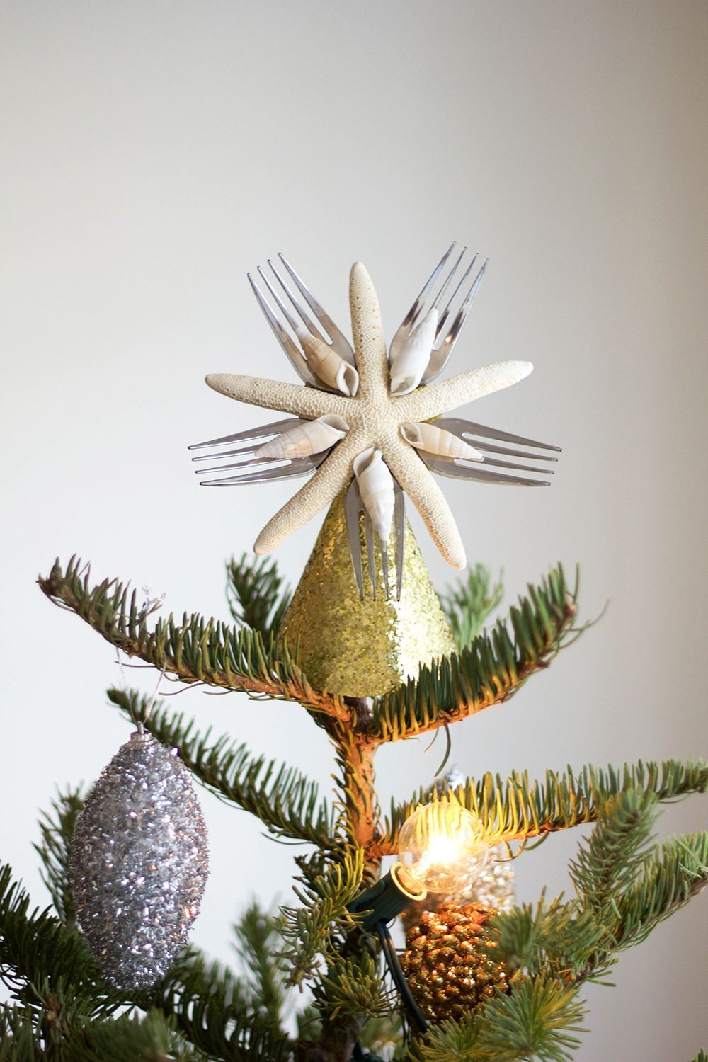 How to make a snowman christmas tree topper - Little Mermaid Tree Topper