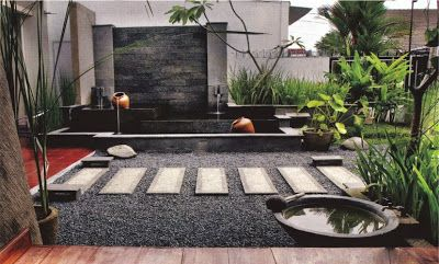 Jasa Professional Pembuatan Taman Rumah Perumahan Maupun