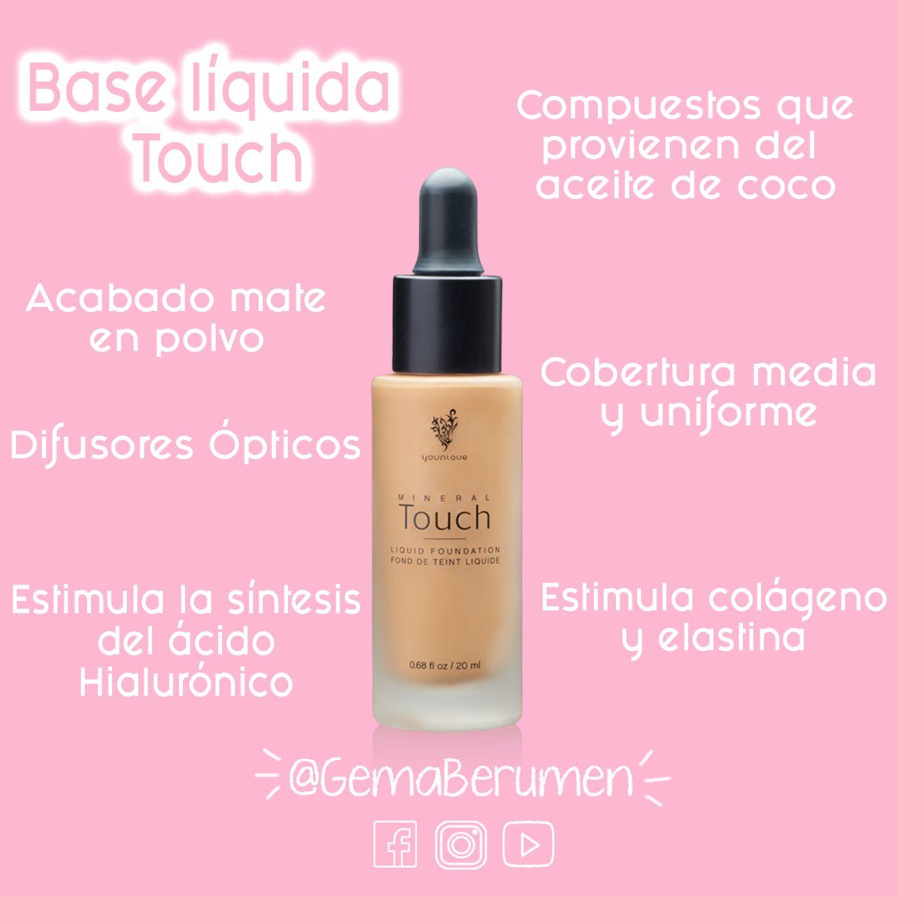 Base L 237 Quida Touch Touch Liquid Foundation Tip De
