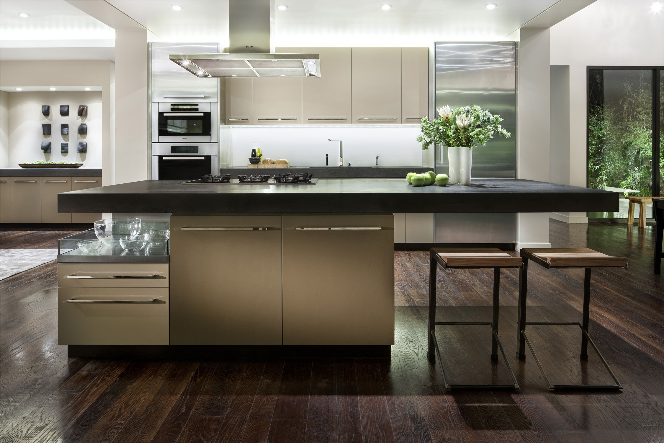 Miele Kitchen by Tamie Glass & Uli Danel Interieur