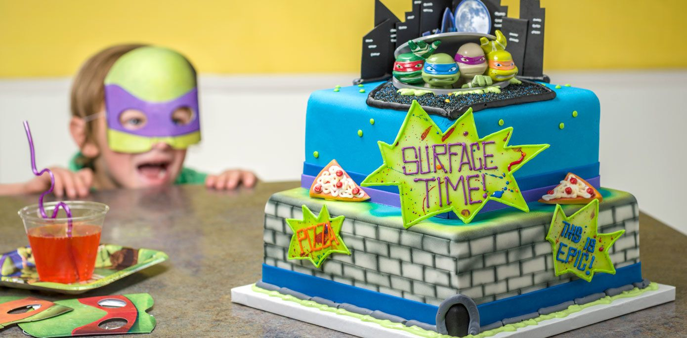 Teenage Mutant Ninja Turtles Turtles To Action Decoset Cake Topper Ninja Turtle Birthday Cake Ninja Turtle Cake Topper Teenage Mutant Ninja Turtle Birthday