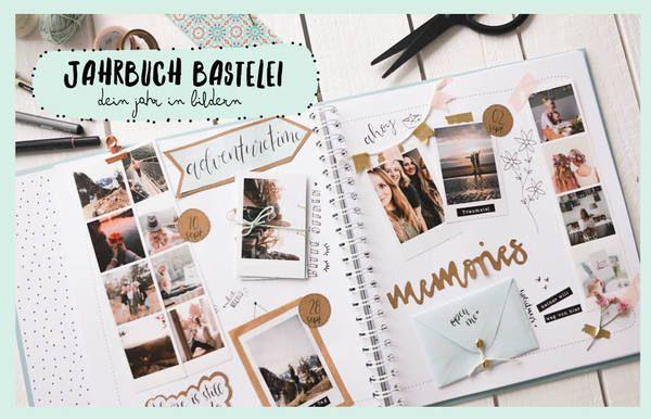 Bastelideen für dein Fotobuch mit kostenlosen Vorlagen
