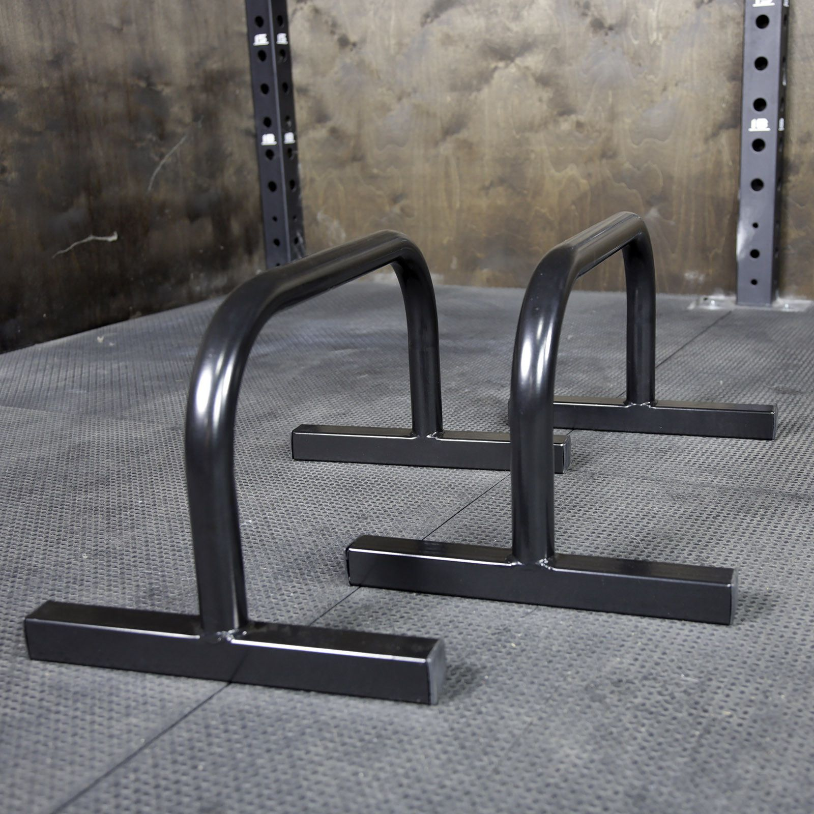 Steel Parallette Set Push up bars, At home gym, Steel
