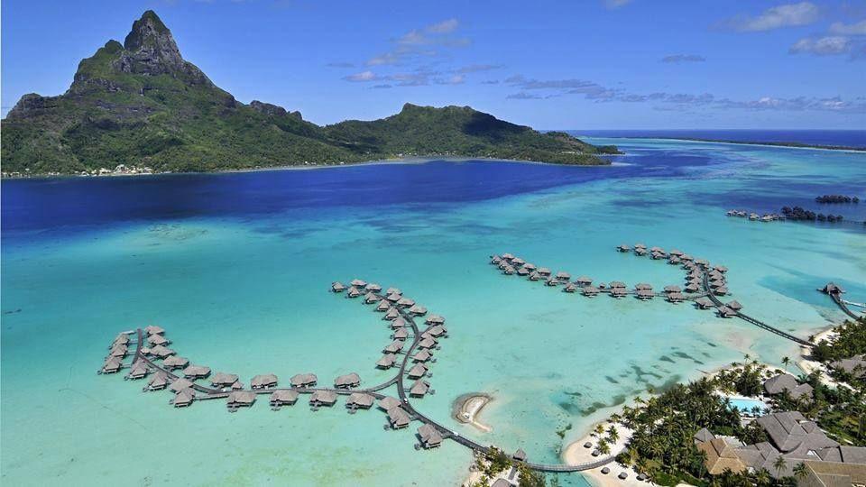 Bora Bora, Polinesia Francesa.