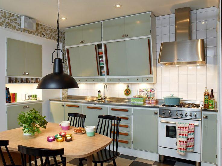 50s Kitchen 50-tals tapet - sök på google | retro inredning | pinterest | 50s