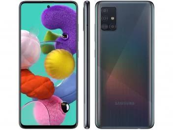 Smartphone Samsung Galaxy A51 128gb Preto 4g 4gb Ram 6 5 Cam Quadrupla Cam Selfie 32mp Magazine Lccarvalho Smartphone Samsung Galaxy Apps Android