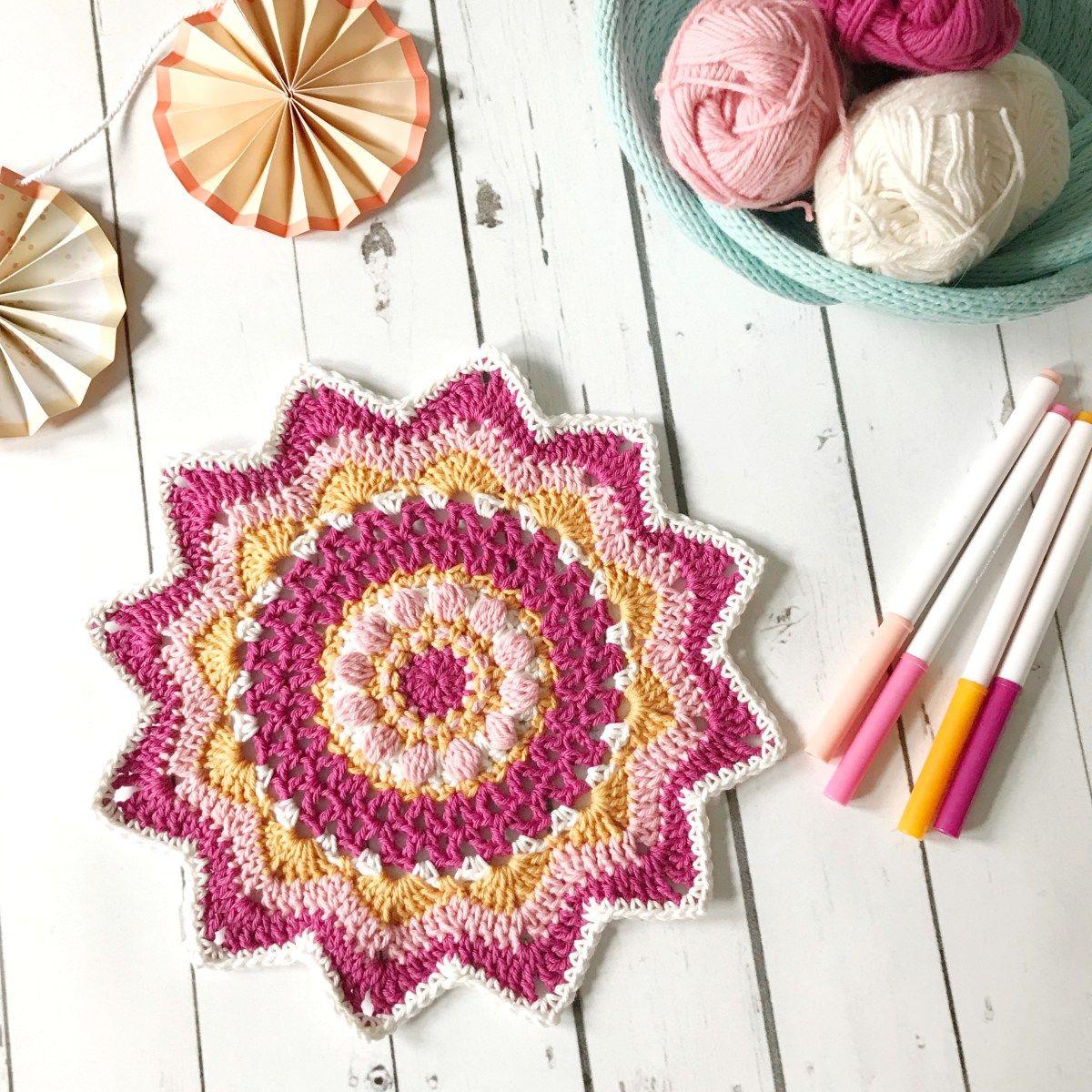 Big Magic Mandala Pattern | MobiusGirl Design Community Board ...