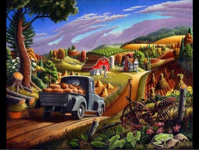 Autumn Season in Paintings