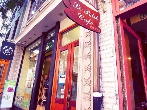 Cafe @ Le Patit Cafe NY