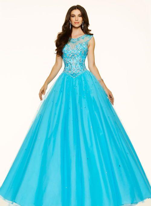 Pin De Aida En Vestidos De Promo Vestidos Azules Turquesa