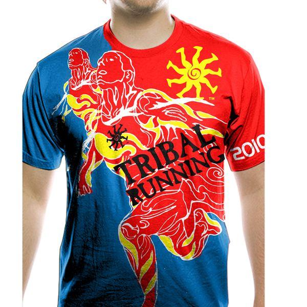 TRIBAL RUNNING T-SHIRT DESIGN by Christian Lubis, via Behance