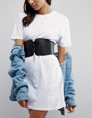 ASOS Wide Corset Belt   clothes in 2019   Corset belt, Corset, Belt 0ff81e656d1