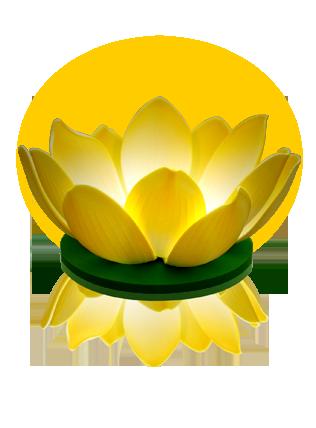 Nymphea LED Jaune