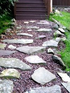 Rock Pathways Inspiration D.i.y Rock Pathway Something Else My Hubby Could Do  Fairy Tale . Inspiration Design