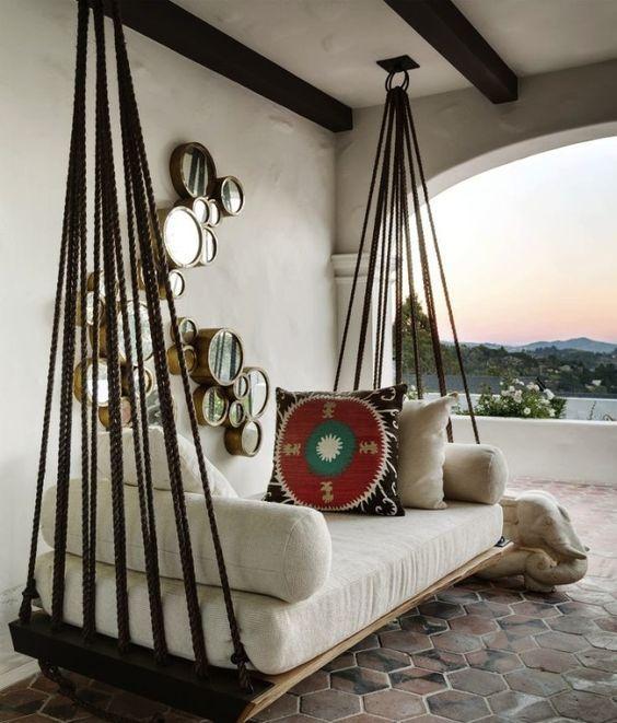 10 balancines perfectos para jardín y terraza Terrazas, Cómo hacer - balcones modernos