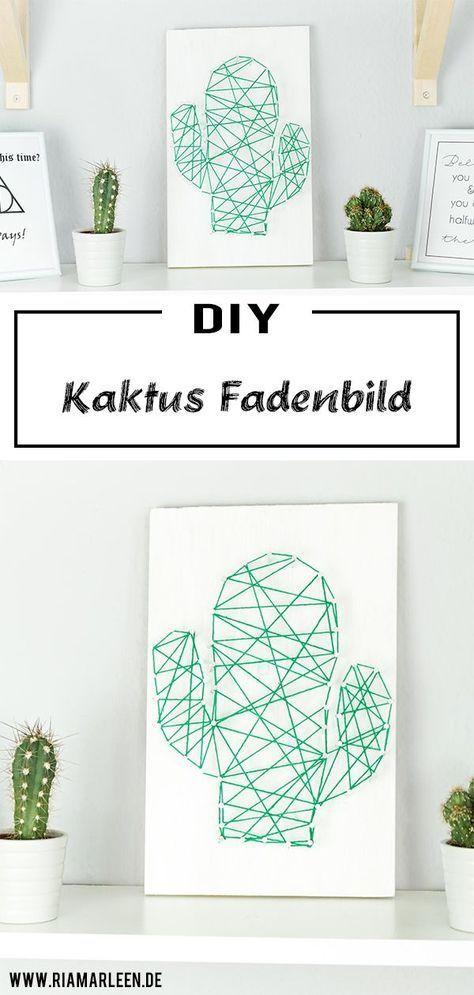 Photo of Basteln Sie selbst ein DIY-Kaktusfadenbild – eine schöne DIY-Dekorationsidee  Schildkröten #cake – home decorasyon