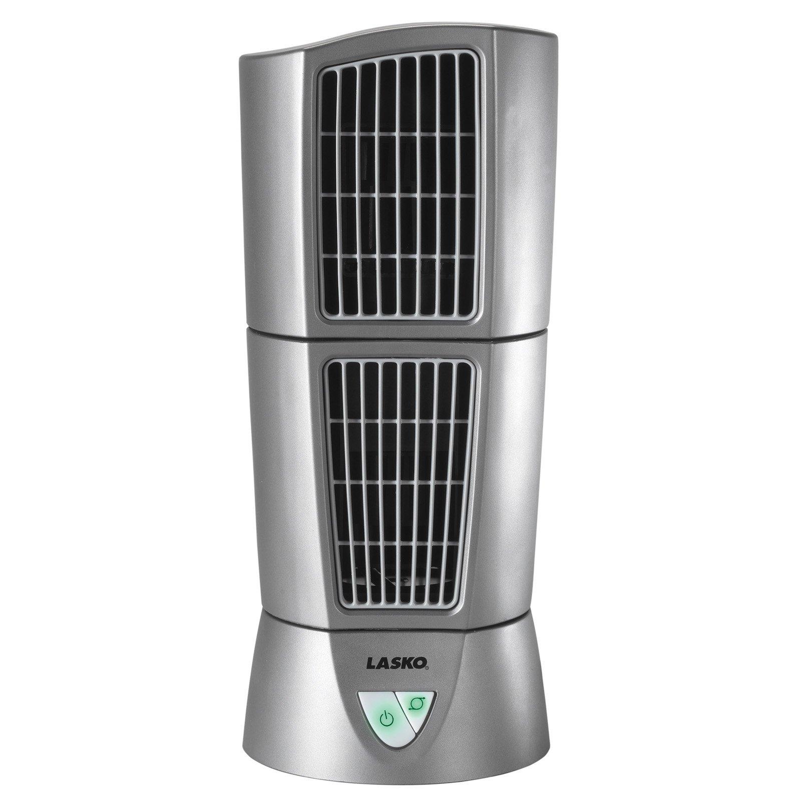 Lasko 4910 Platinum Desktop Wind Tower Products In 2019 Tower Fan Portable Fan Pedestal Fan