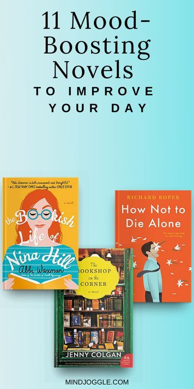 Having a rough day? A light, uplifting book might be just what you need to boost your mood. The books on this list from Mind Joggle range from lighthearted to uplifting to downright funny. If you need a book to make you smile or pull you out of the doldrums, you're sure to find the right read to improve your mood--and maybe even a book that will make you laugh. #books #uplit #reading #booklist