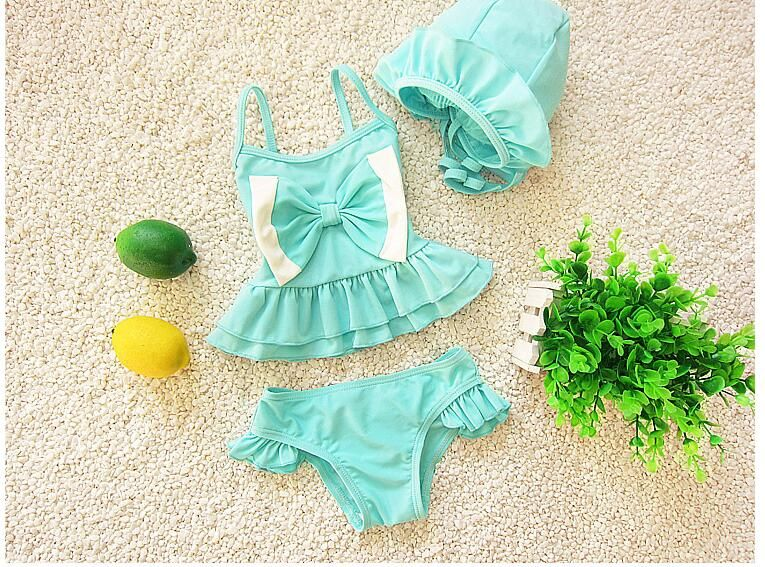 new style childern swimsuits solid big bow hammock tankini set beach wear cute girl ruffles skirt new style childern swimsuits solid big bow hammock tankini set      rh   pinterest
