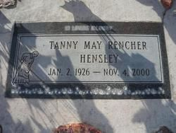 Tanny May Rencher Hensley